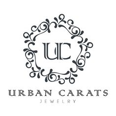 urban_carats_logo.jpg (544×544) ❤ liked on Polyvore featuring logo
