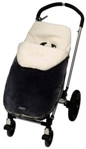 JJ Cole Colletions Śpiworek do wózka Original  Navy