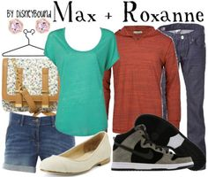 Max and Roxanne by DisneyBound