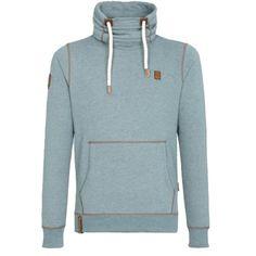 Blauer #Pullover mit #Schlauchkragen ab 69,95€ Hier kaufen: http://www.stylefru.it/s263210 #pulli #blau