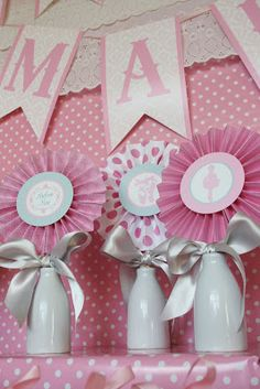 Find This Pin And More On Ideias By Caroliiinesanto. Pink Angelina  Ballerina Girl Ballet Dance Tutu Baby Shower ...