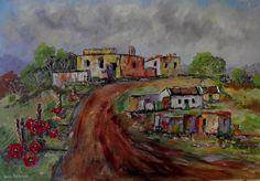 Original Landscape Painting by Louis Pretorius Oil On Canvas, Canvas Art, Original Paintings, Original Art, Block Painting, Impressionism Art, Painting Videos, Beautiful Paintings, Landscape Art