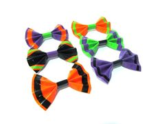 Halloween Inspired Duct Tape Hair Bows by TimmNicole on Etsy, $7.00
