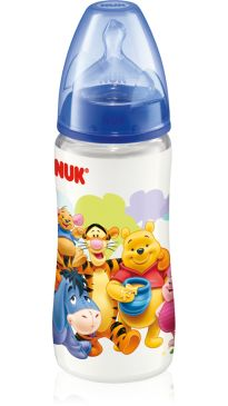 NUK PREMIUM CHOICE Disney Polypropylene Bottle 300ml de silicone (0-6m)