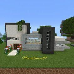 Otra casa Moderna Minecraft  ❤  Another modern house minecraft  ❤#Casa #Moderna #house #Home #Minecraft #Minecraftpe #Gamer #builder #Games #Mcpe #Minecraftpc #MCPECrea #Minecraftuniverse #Minecrafter #Minecrafters #Minecraftonly