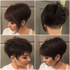 shortest pixie haircuts