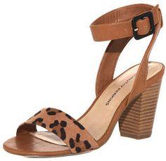7e5bedcf3ceb Dorothy Perkins Tan clean block heel sandals - ShopStyle