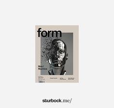 Form Magazine: Nº 266. Man/Machine! http://sturbock.me/portfolio/magazin-4/