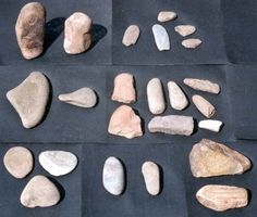 In the paleolithic age, people used rocks for various tools and weapons. These  were the first ever successfully used tools by humans. These designs and ideas have been recreated and made better for the world today.