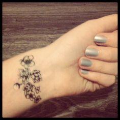 Chanel Sky nail polish & Chanel Tatoo from 2010 - @daria_kunilovskaya- #webstagram