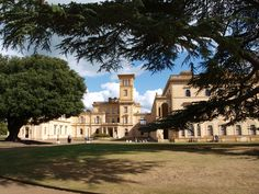 What a stunning place...Osborne House...We came back another day on our 2nd week as we had joined English Heritage