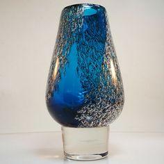 Glas Vase FLORIDA • Design Löffelhardt für Schott-Zwiesel