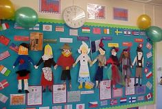 An engaging way to look at different national costumes and celebrate cultural diversity.