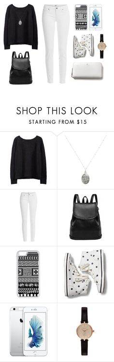 """Im going to Chicago"" by aplatis1 ❤ liked on Polyvore featuring White House Black Market, Paige Denim, CellPowerCases, Keds, Barbour and Kate Spade"
