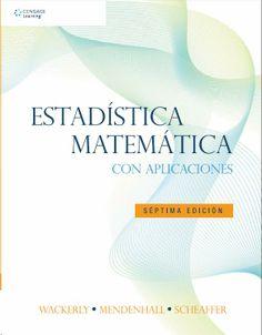 DESCARGA LIBRO ESTADÍSTICA MATEMÁTICA CON APLICACIONES POR WACKERLY, MENDENHALL, SCHEAFFER EN PDF Y EN ESPAÑOL   http://helpbookhn.blogspot.com/2014/04/libro-estadistica-matematica-con-aplicaciones-mendenhall-wackerly.html