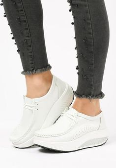 Mocasini piele naturala Carine Albi Smart Casual, Sneakers, Shoes, Fashion, Tennis, Moda, Slippers, Zapatos, Shoes Outlet
