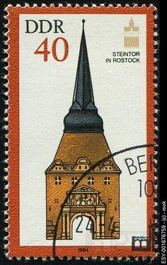 DDR Postage