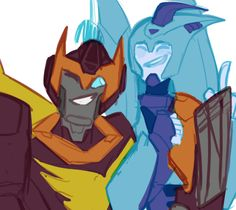 TFA Blurr and Roddy