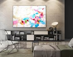Extra Large Wall art - Abstract Painting on Canvas, Contemporary Art, Original Oversize Painting Large Abstract Wall Art, Large Canvas Art, Bright Paintings, Canvas Paintings, Painting Art, Large Painting, Painting Abstract, Textured Painting, Bedroom Paintings