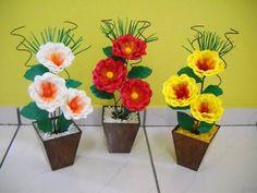 Arranjos de flores de eva - Curso Profissional De Arte Floral - YouTube