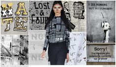 #FashionSnoops #printtrends on #WeConnectFashion. SS17 Women's graphics story: Powerful Message