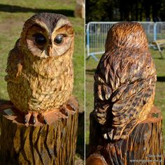 Chainsaw carvings and sculpture