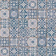 Textures Texture seamless | Patchwork tile texture seamless 16601 | Textures - ARCHITECTURE - TILES INTERIOR - Ornate tiles - Patchwork | Sketchuptexture