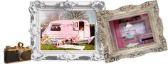 Looking for a party experience with a difference?We provide everything you need for a memorable party in a caravan! Vintage Vans, Pink Parties, Caravan, Special Events, Celebration, How To Memorize Things, Girly, Weddings, Frame