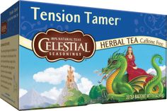 Tension Tamer Herbal Tea ~ combine the herbs with the soothing properties of hot tea to melt away stress