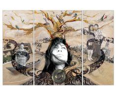 Cultural Design (Triptych) Noeline Ah Lam, 2009 Nz Art, Maori Art, Art Lesson Plans, Triptych, Medium Art, Art Education, Art Lessons, Digital Art, Art Gallery
