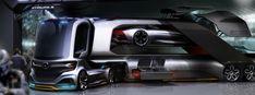 Mercedes Future Truck by Alexander Hoch