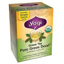 Yogi Teas Tea Grn Dcf Org ** You can find out more details at the link of the image. (This is an affiliate link and I receive a commission for the sales)