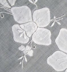 Linnen White Vintage Tablecloth | Flickr - Photo Sharing!