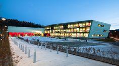 Nordahl Grieg  High School by LINK Arkitektur - Coopper