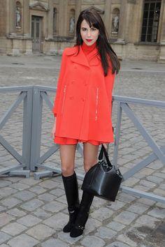 Louis Vuitton Front Row - Caroline Sieber