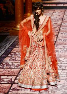 Chitrangada Singh for Suneet Varma at Aamby Valley India Bridal Fashion Week, 2013 https://www.facebook.com/pages/Suneet-Varma-Official-Page/118983668143722 | India Today