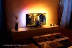 Le système LightBerry permet de créer un effet Ambilight derrière n'importe quelle TV.