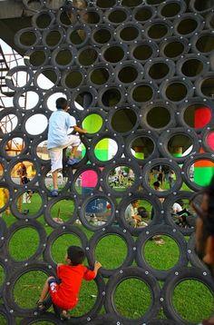 #playground #wheel #landscape