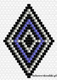 015e29fcc027 Schémas De Bijoux En Perles, Perle Miyuki, Tissage Brick Stitch, Pendentif,  Diagramme
