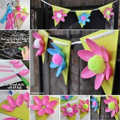 diy flower decoratio