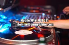 Are you looking for the perfect #DJ for your occasion at #Melbourne? Look no further, we have just the right DJ for you. So hire us today. http://www.melbournedjhire.com/dj-melbourne/