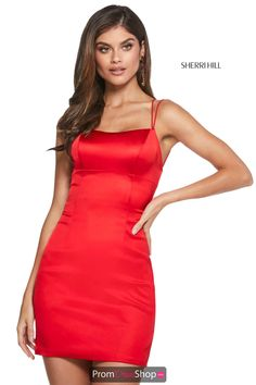 Sherri Hill Short Dress 53201   PromDressShop.com