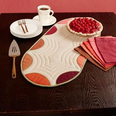 Find all the project instructions to make this table runner today!