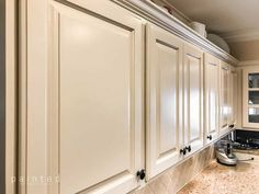 best white paint for kitchen cabinets sherwin williams. sherwin williams paint for kitchen cabinets. Ivory Kitchen Cabinets, Refacing Kitchen Cabinets, Kitchen Cabinet Colors, Cream Cabinets, Soapstone Kitchen, Cabinet Decor, Cabinet Design, Painting Oak Cabinets, Staining Cabinets
