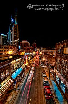 Nashville, Tn. Been several times. Need to go back. Such a fun place and I miss my family :)