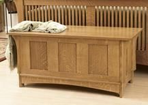 Arts and Crafts Blanket Chest