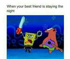 Funny meme with spongebob and patrick literally me Really Funny Memes, Stupid Funny Memes, Funny Relatable Memes, Funny Posts, The Funny, Hilarious, Funny Stuff, Funny Quotes, Seriously Funny