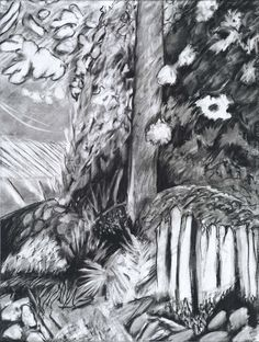 Unconstrained, Charcoal