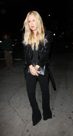 RACHEL ZOE Arrives at a Party at Nice Guy in West Hollywood 01/23/2016
