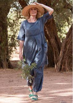 Bestickte Hose aus Baumwolle 52303-66.jpg